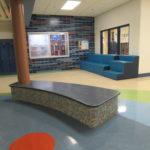 Inside of school building