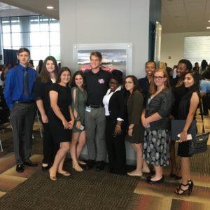 High school students at General Motors